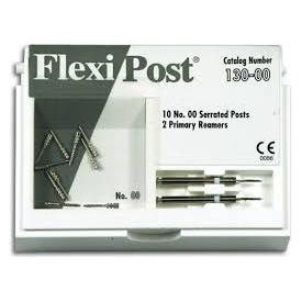 Flexi-Post Zestaw uzupełniający (tytanowe-białe,rozmiar:00) 135-00