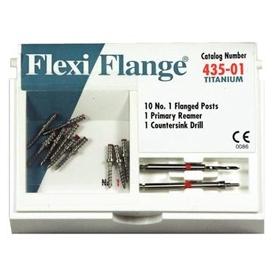 Flexi-Flange Zestawuzupełniający (tytanowe-czerwone,rozmiar01) 435-01