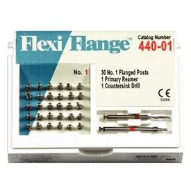 Flexi-Flange Economy Zestaw uzupełniający (tytanowe-niebieskie, rozmiar:02) 445-02