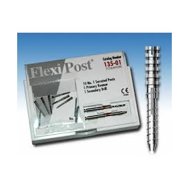 Flexi-Post Zestaw uzupełniający (tytanowe-czerwone,rozmiar:01) 135-01
