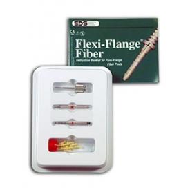 Flexi-Flange Fiber Zestaw uzupełniający (czerwony 01) 2430-01