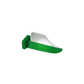Formówki FenderWedge 100 szt. zielone 602801