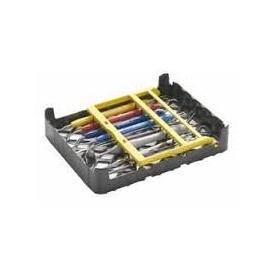 Kaseta PractiPal Trays  czarno/żółta 140x180x37 115112