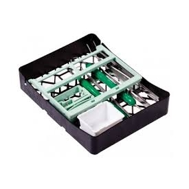 Kaseta PractiPal Compact Bur Set miętowo/zielona 140x182x37 115172