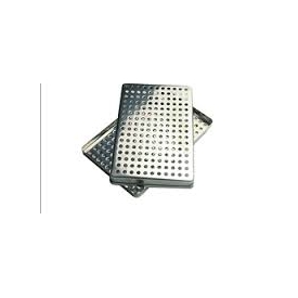 Tacka Standard Tray Stainless Steel, Perforated 284x184x17mm 416164
