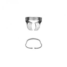 18 Satin Steel® koferdamu Clamp RDCM18