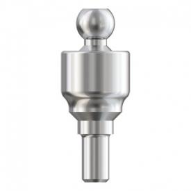 Narrow Ball Abutment incl. CAHL - H 4mm TN60-04