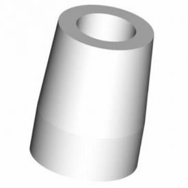 Plastic Castable Coping incl. screw RS-PCC PCC