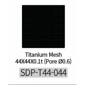 Titanium Mesh Pore średnica 0,6 (44mm*44mm)  Płytka tytanowa do kości