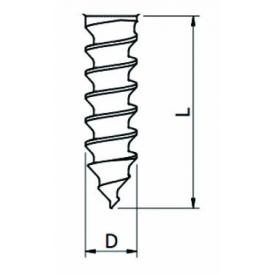 SD-SCERW średnica 1.4*10mm Śruba do przykręcania bloków kostnych
