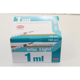 Strzykawki do insuliny 1ml z igłą
