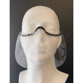 Przyłbica ochronna na nos i usta