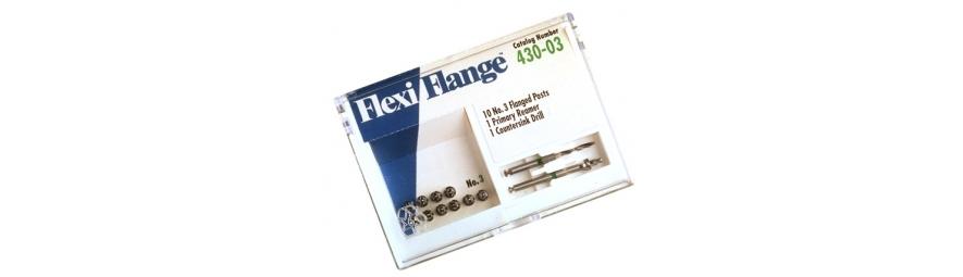 Flexi-Flange: Prefabrykowany system wkładów w rozciętym trzonem przeznaczony do jednoczesnej odbudowy korony zęba